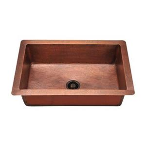 MR Direct Single Bowl Copper Sink,903