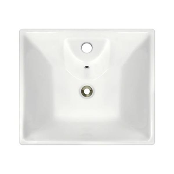 MR Direct Bisque Porcelain Vessel Sink,V150-B