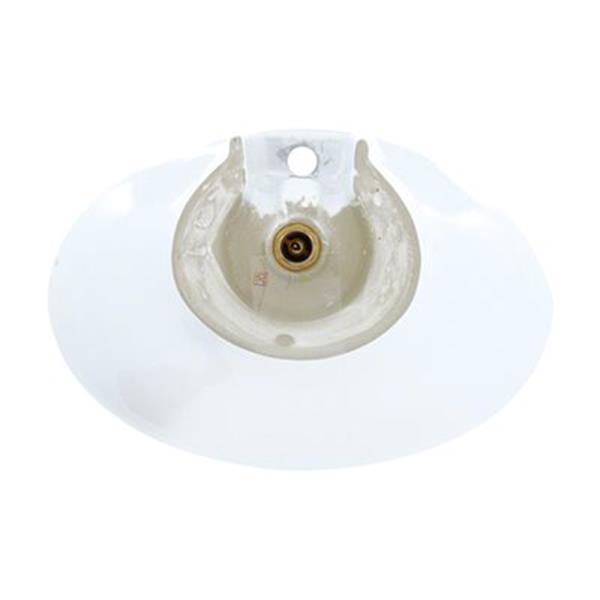 MR Direct White Porcelain Vessel Sink,V2102-W