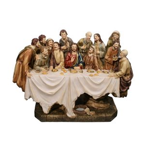Hi-Line Gift 14.5-in Last Supper Figurine,81837