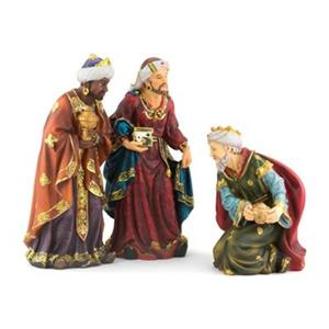 Hi-Line Gift 81856 18-in Three Wise Men Figurine Set,81856