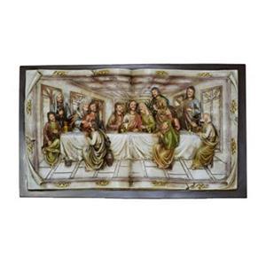 Hi-Line Gift Last Supper Wall Plaque,81892-S