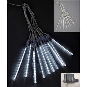 Hi-Line Gift 37466 8-in Meteor Tube Lights,37466-WT