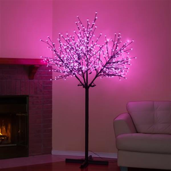Hi-Line Gift 39046 84-in Outdoor Cherry Blossom Tree Floral