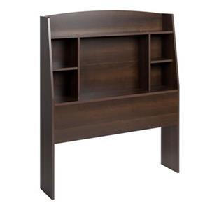 Prepac Furniture Astrid Twin Bookcase Headboard,EHFT-0401-1