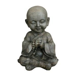 Hi-Line Gift 76341 Buddha Praying with Beads Garden Statue,7