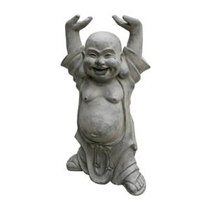 Hi-Line Gift 77074 Buddha with Hands Up Garden Statue,77074