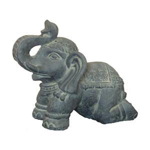 Hi-Line Gift 76327 Elephant Kneeling Garden Statue,76327