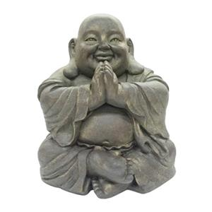 Hi-Line Gift 76353 Sitting and Praying Buddha Garden Statue,