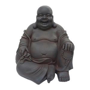 Hi-Line Gift 76305 Sitting Buddha Garden Statue,76305-L