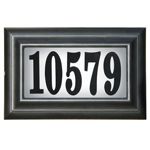 PRO-DF P23001 Classic Lighted Address Plaque,P23001