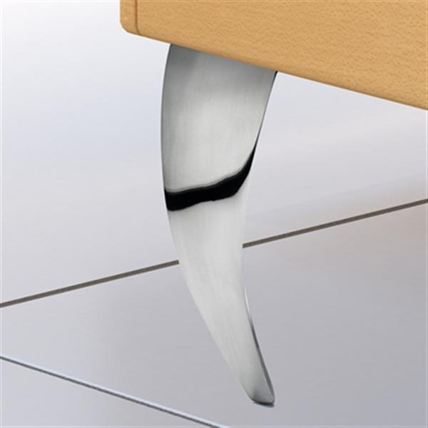 Richelieu Aluminum Furniture Leg,5600120