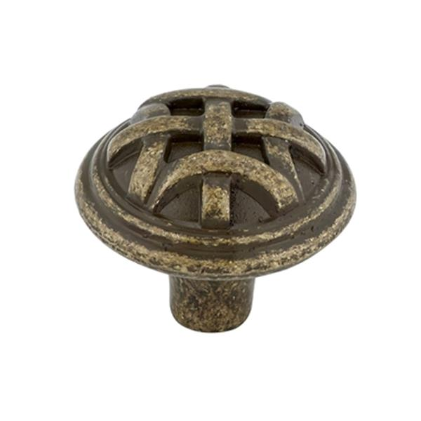 Richelieu BP2391632 Traditional Metal Knob,BP2391632BB