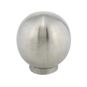 Richelieu Benevento Contemporary Stainless Steel Knob,BP3401