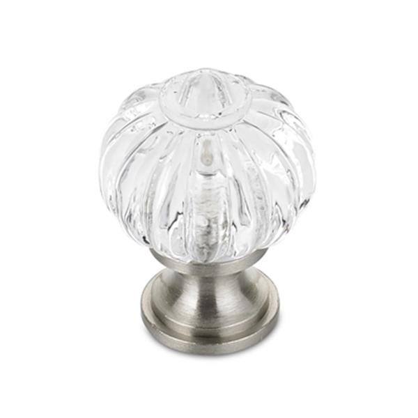 Richelieu Montreuil Eclectic Brass and Acrylic Knob,BP403519