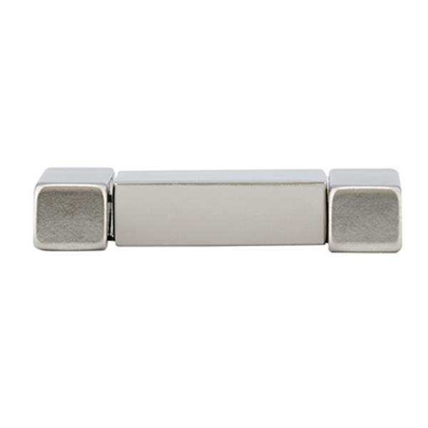 Richelieu Contemporary Recessed Metal Pull,BP2376032195