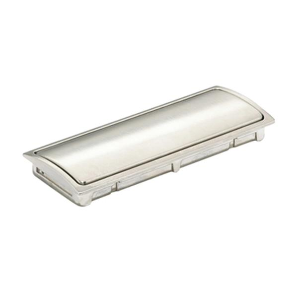 Richelieu Contemporary Recessed Metal Pull,BP721132195
