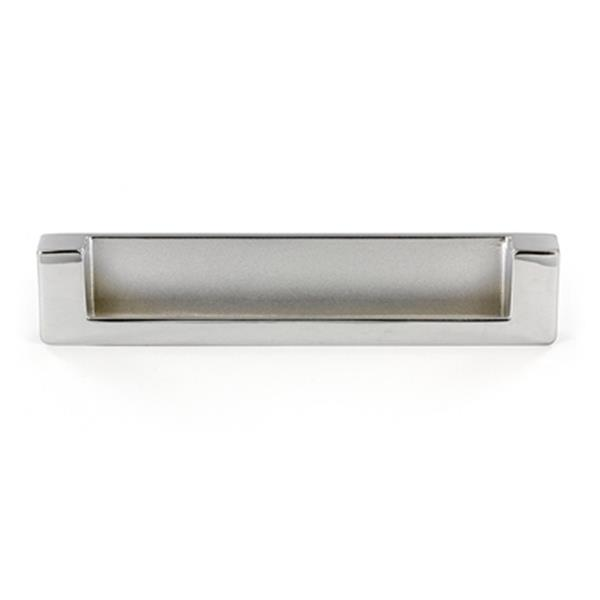 Richelieu BP897128 Contemporary Recessed Metal Pull,BP897128