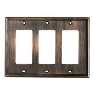 Richelieu Contemporary Decora Switchplate,BP85111BORB