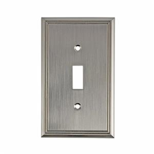 Richelieu Contemporary Toggle Switchplate,BP8531195