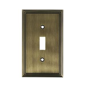 Richelieu Contemporary Toggle Switchplate,BP853AE