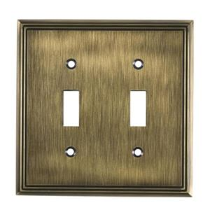 Richelieu Contemporary Toggle Switchplate,BP8533AE