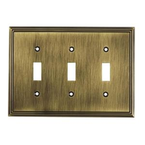 Richelieu Contemporary Toggle Switchplate,BP85333AE