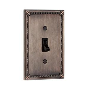 Richelieu Traditional Toggle Switchplate,BP863BORB