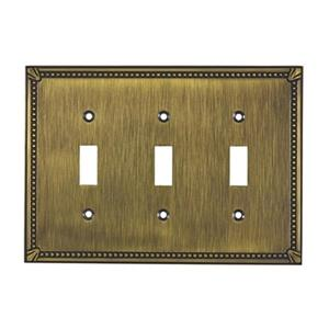 Richelieu Traditional Toggle Switchplate,BP86333AE