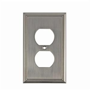 Richelieu Contemporary Duplex Switchplate,BP852195