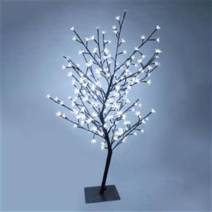 Hi-Line Gift Artificial Cherry Blossom Tree with 208 LED Lig