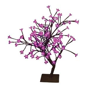 Hi-Line Gift Artificial Bonsai Tree with Floral Lights,37400