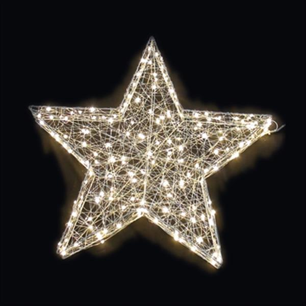Hi-Line Gift 3D Star with 160 LED Lights,37473-M