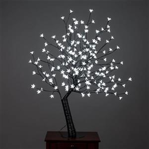 Hi-Line Gift Outdoor Cherry Blossom Tree with 200 White LED