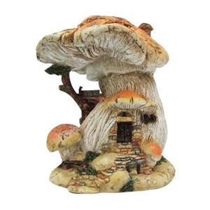 Hi-Line Gift Fairy Garden Mushroom House,72042-01
