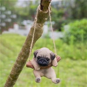 Hi-Line Gift Hanging Pug Puppy,87704-C