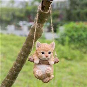 Hi-Line Gift Hanging Tabby Kitten,87704-G