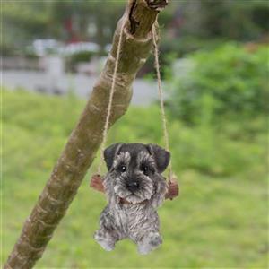 Hi-Line Gift Hanging Schnauzer Puppy,87704-J