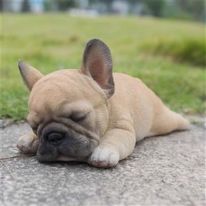 Hi-Line Gift Sleeping French Bulldog Puppy,87710-G