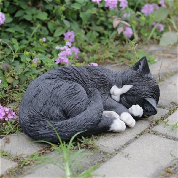 Hi-Line Gift Cat Lying and Sleeping Statue,87728-A