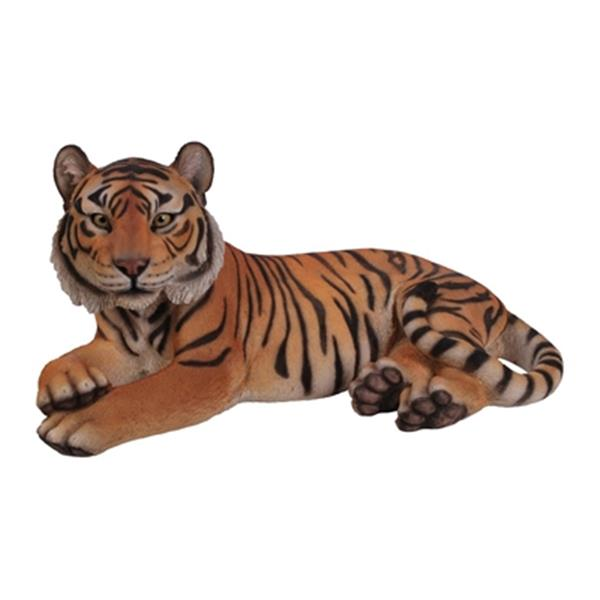 Hi-Line Gift Laying Down Bengal Tiger Statue,87807-YL