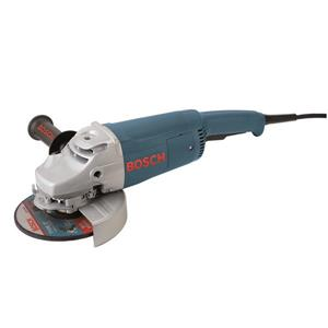"Bosch Angle Grinder with Handle - 7""."