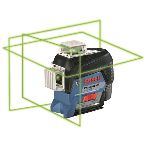 Laser lignes de nivellement/alignement connecté à faisceau