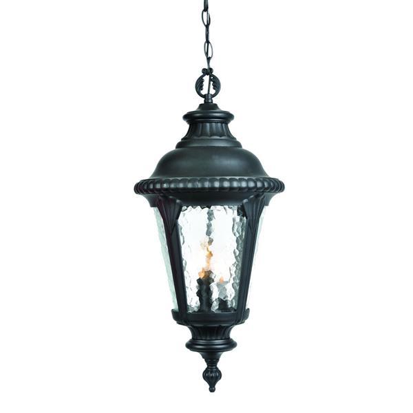 """Lanterne extérieure Surrey, 22,5"""", 3 lumières, noir"""
