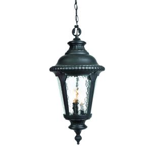 "Acclaim Lighting Surrey Outdoor Lantern - 22.5"" - 3 Lights - Black"