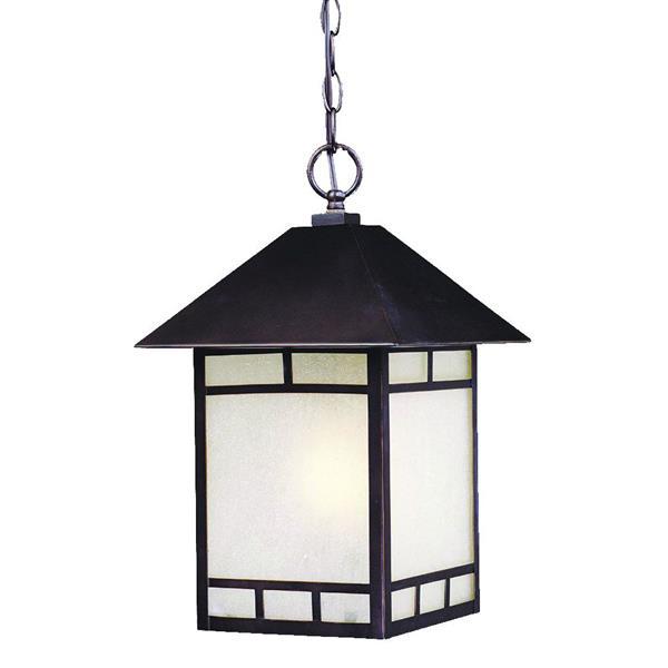 Lanterne extérieure Artisan, 1 lumière, bronze