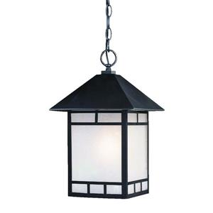 Acclaim Lighting Artisan Outdoor Lantern - 1 Light - Black