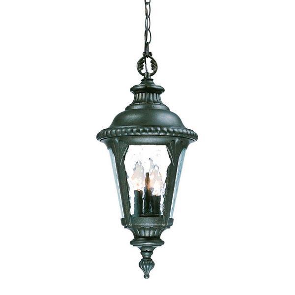 """Lanterne extérieure Surrey, 21,75"""", 3 lumières, noir"""
