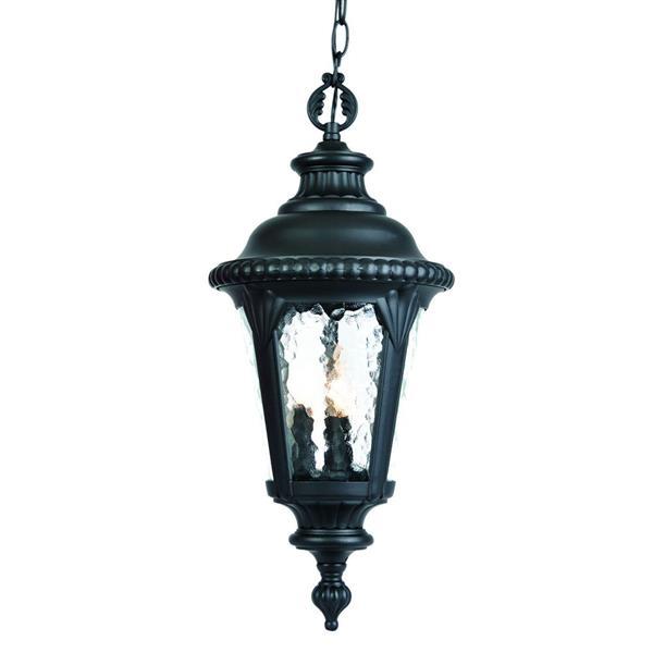 """Lanterne Surrey, 21,75"""", 3 lumières, noir"""