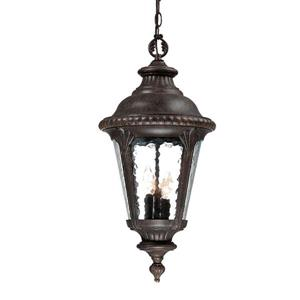 """Lanterne Surrey, 25,5"""", 3 lumières, noir"""
